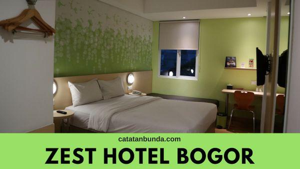 kamar di zest hotel bogor - catatan bunda