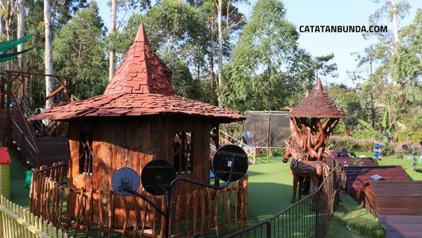 tempat bermain anak bersama kelinci di dusun bambu bandung - catatan bunda