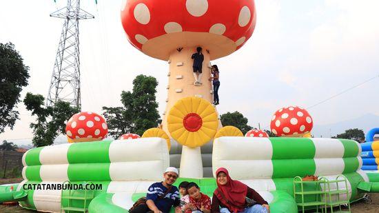 review funtopia balloon park di bandung - catatan bunda