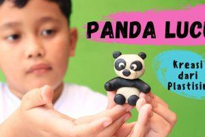 Tutorial Kreasi Plastisin Panda Mirza Toys dari Catatan Bunda 0817 235 1132